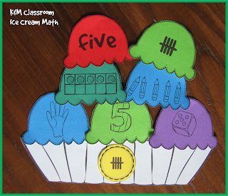Number Recognition Matching Card Game