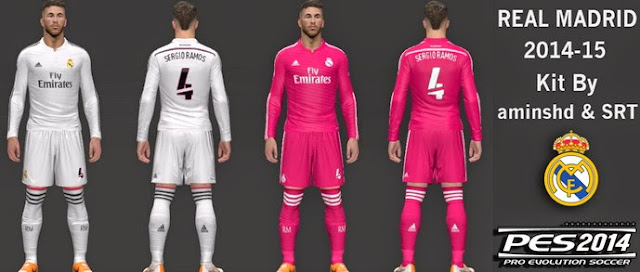 PES 2017 PC  Uniformes 2014 2015 Real Madrid • Brazilians W-Patchs 44b3f4c16d298