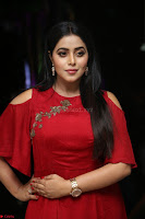Poorna in Maroon Dress at Rakshasi movie Press meet Cute Pics ~  Exclusive 89.JPG