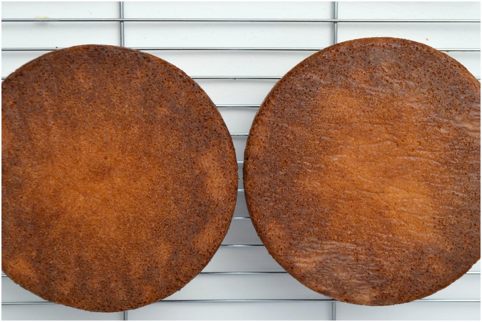 Quantities For  Inch Round Sponge Cake