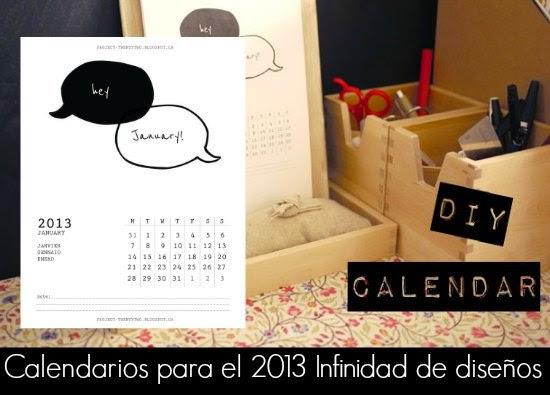Calendarios 2013 Descargas Gratis.Cientos...