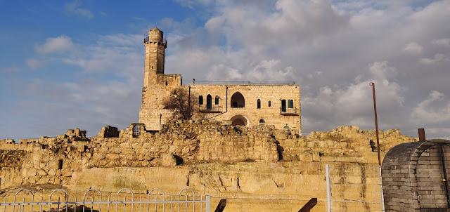 המצודה הצלבנית - נבי מוסא