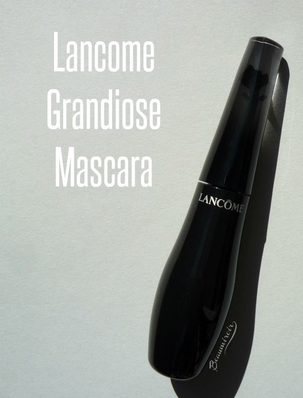 Lancome Grandiose mascara review, photos, swatches
