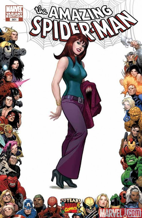 Mary Jane Watson by John Romita