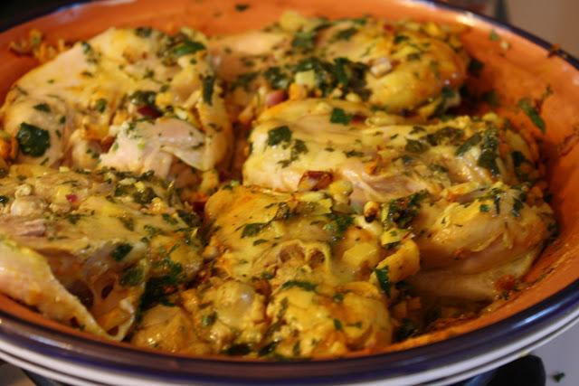 Kuchnia marokańska z pietruszką