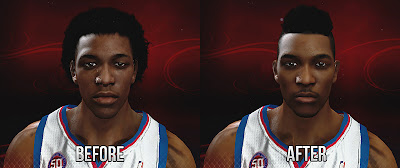 NBA 2K13 Nick Young New Hairstyle Patch NBA2K