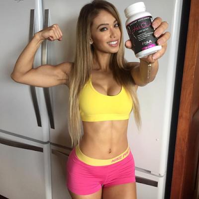 Laís de Leon fitness no Instagram