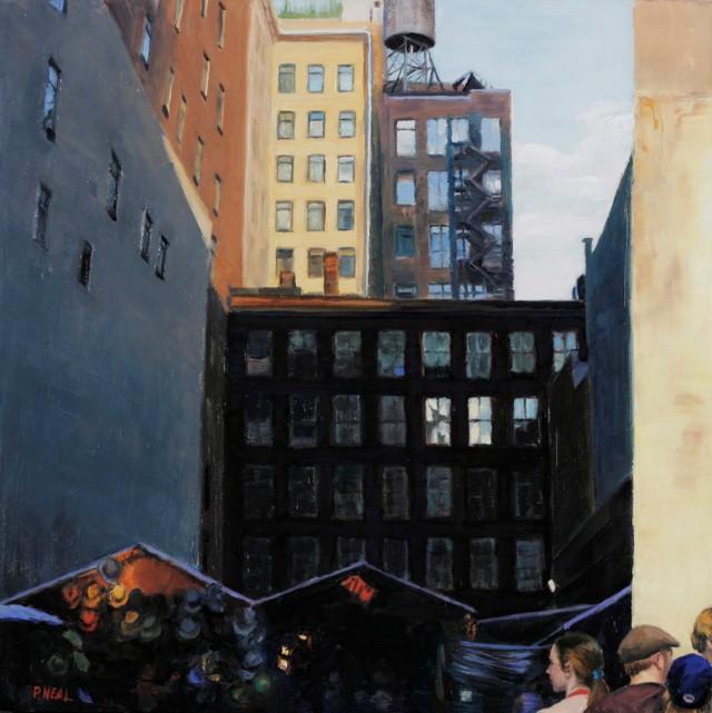 Городской пейзаж. Patty Neal 18
