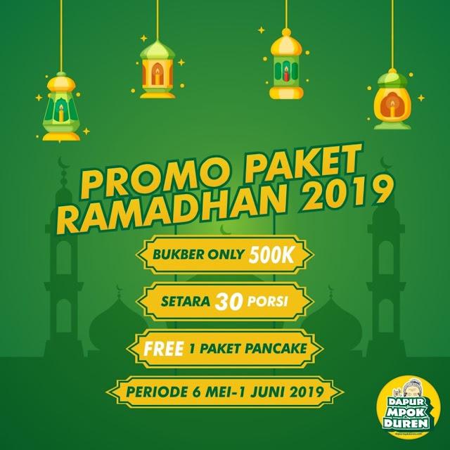 PROMO PAKET RAMADHAN 2019