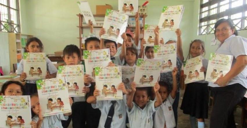 Proyecto «Enseñar es Liderar» distribuye cuadernos escolares en 149 instituciones educativas de la DRE San Martín - www.dresanmartin.gob.pe