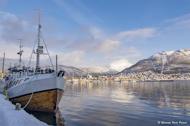 Puerto de Tromsø - Noruega, por El Guisante Verde Project