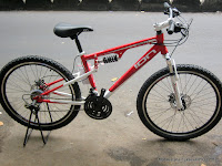 Sepeda Gunung Ion Combat Full Suspension 26 Inci