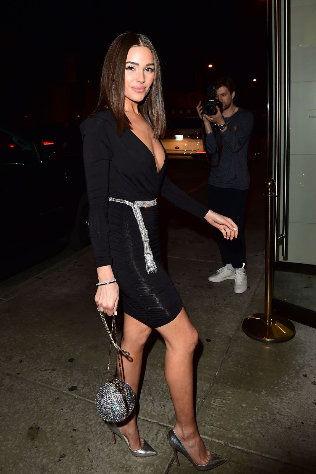 Olivia Culpo Celebrates the launch of her capsule collection with Express at Catch LA