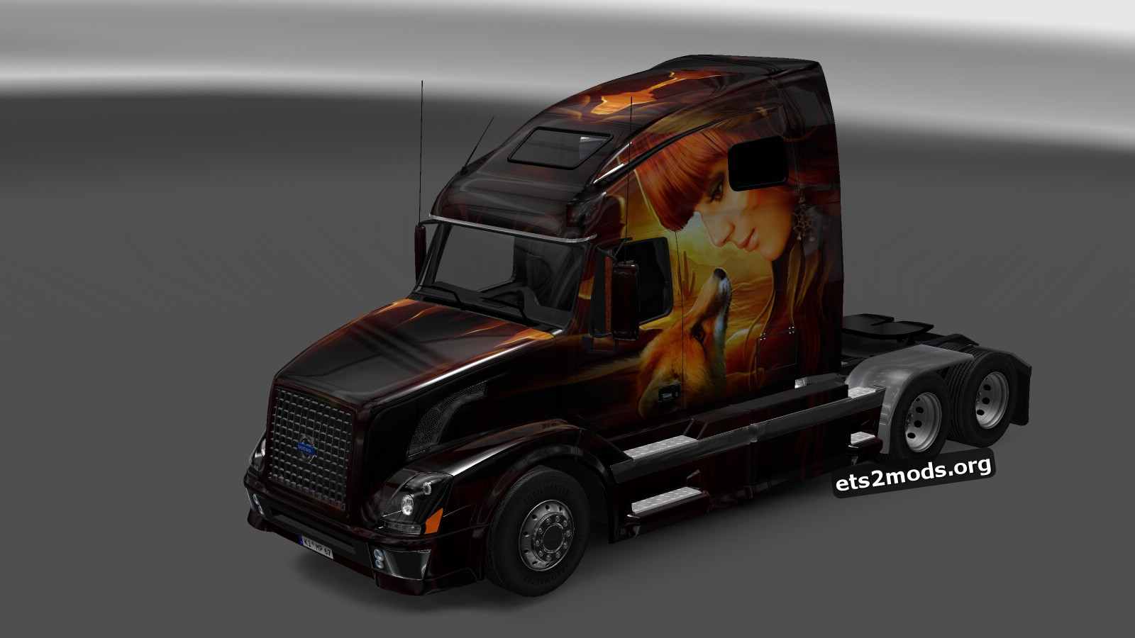 Love & Friendship Skin for Volvo VNL 670