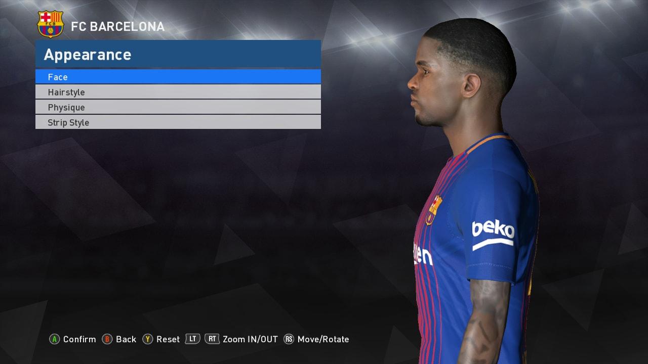 Pes Modif Pes 2017 Face Mbappe Update Fix By Ahmed Tattoo
