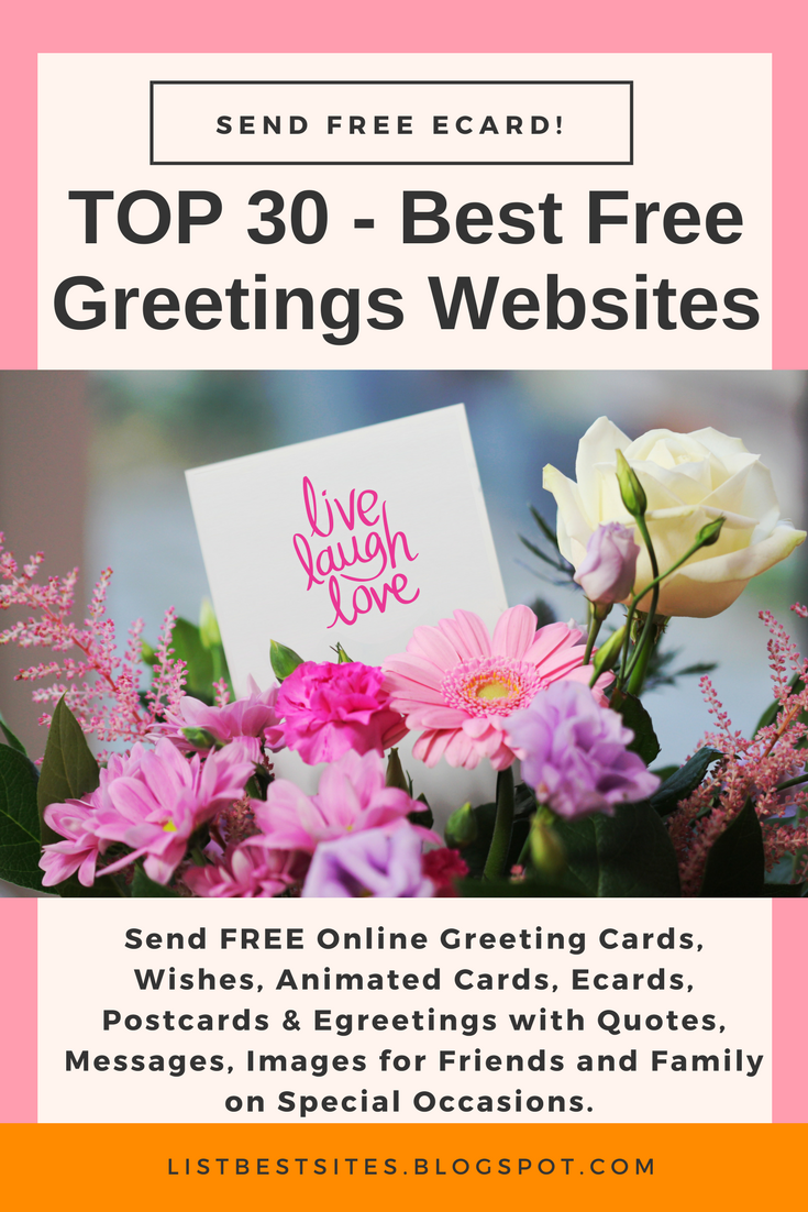 The best websites top best free greetings ecards sites birthdays love weddings thank you cards invitations anniversary ecards and much more top sites for free ecards best free online e card sites kristyandbryce Image collections