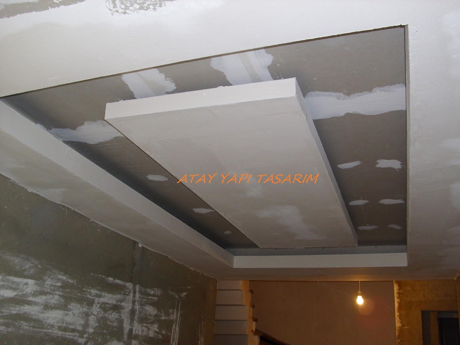 Asma tavan modern resimli isikli ev dekorasyon fikirleri - Asma Tavan Modern Resimli Isikli Ev Dekorasyon Fikirleri 39