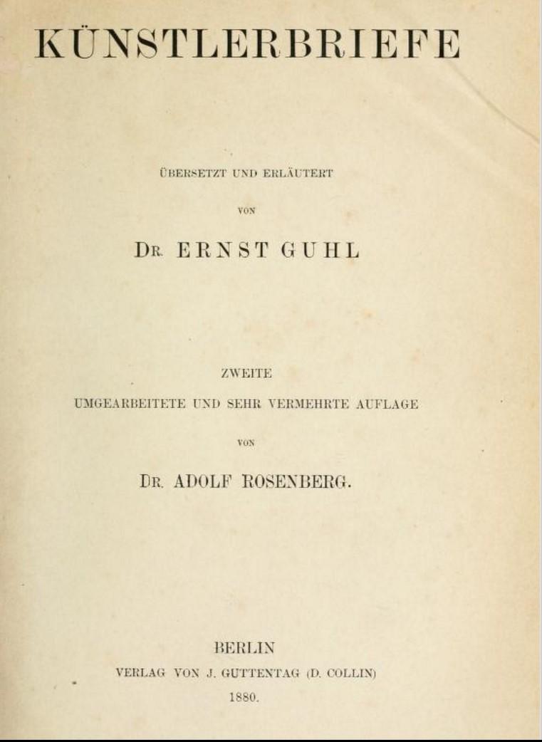 Briefe Traduzione : Letteratura artistica storia delle antologie di