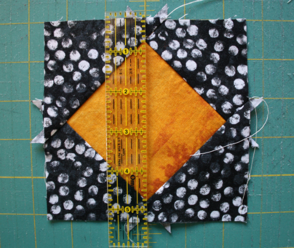 Square-in-a-square tutorial | DevotedQuilter.blogspot.com