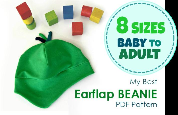 New Pattern Release-My Best Earflap Beanie Hat