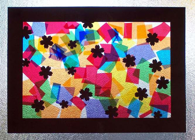 How to Make a Stained GLASS WINDOW for Kids