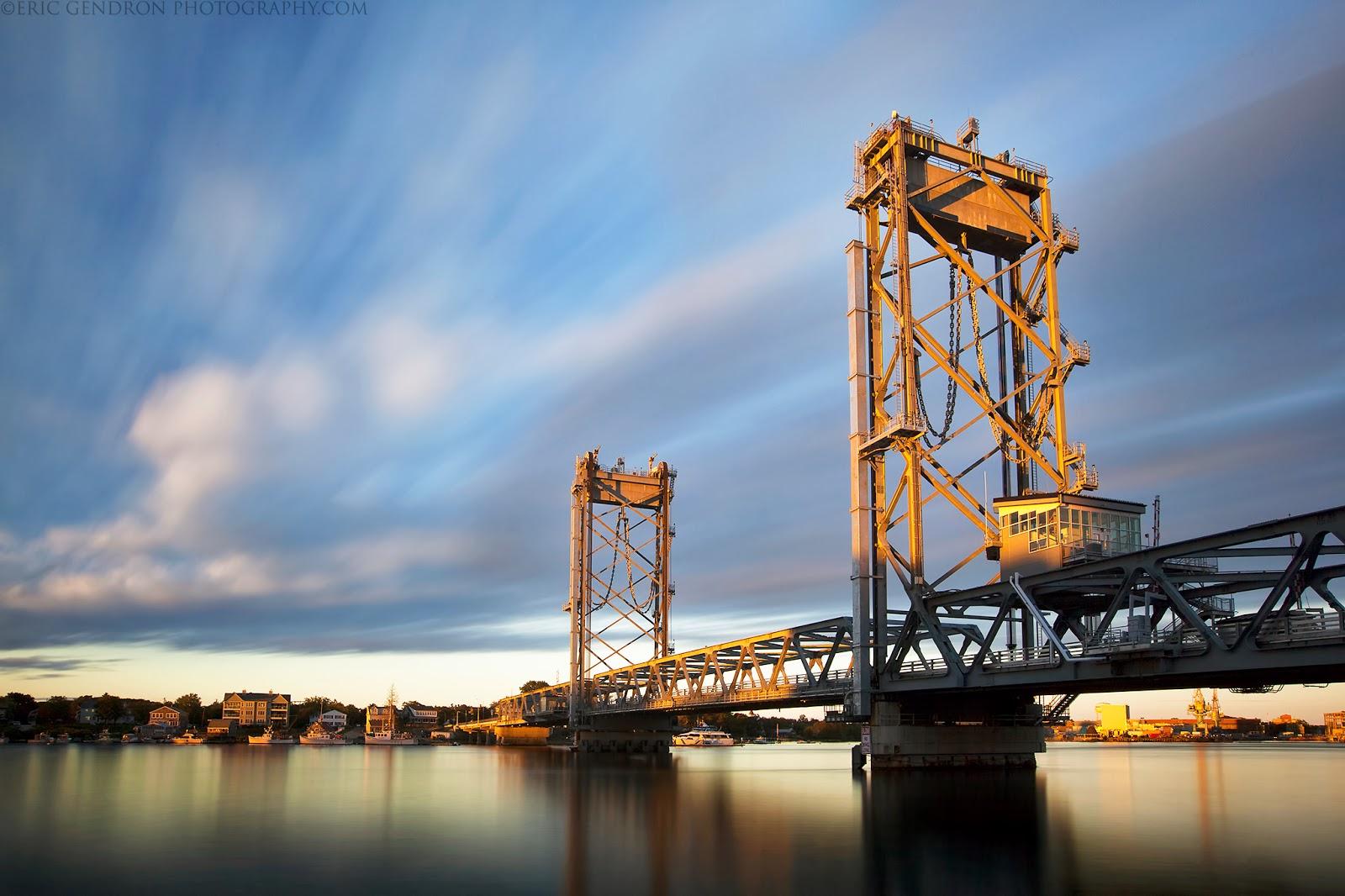 New Memorial Bridge in portsmouth nh