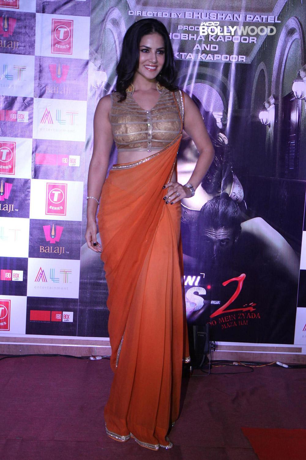 Sunny Leone in Saree Collection's,Hot Wallpaper,Sexy | fliqy