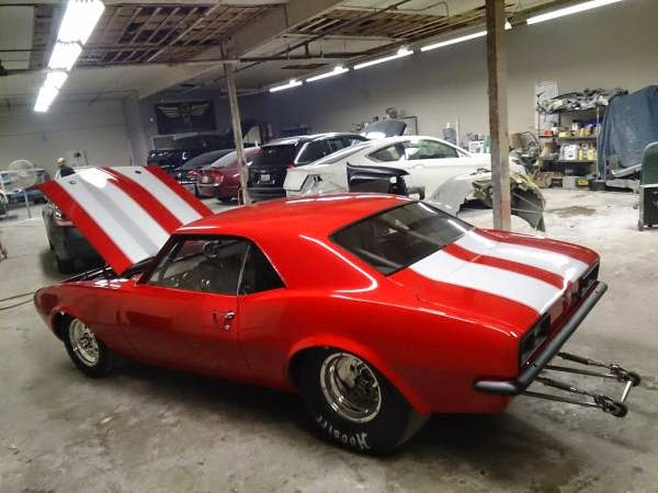 Drag Car, 1968 Chevrolet Camaro | Auto Restorationice