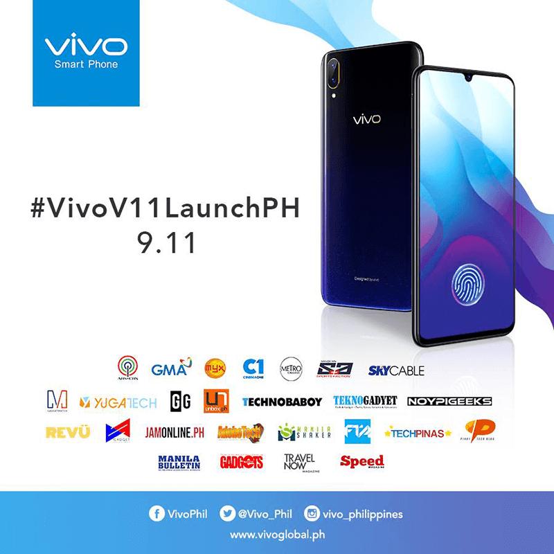 Vivo V11 is set to land in PH on September 11!