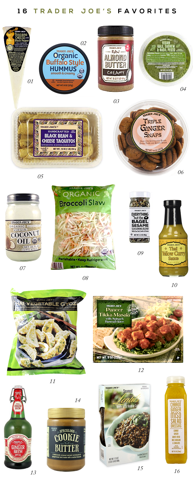 The 16 Best Items To Buy At Trader Joe's