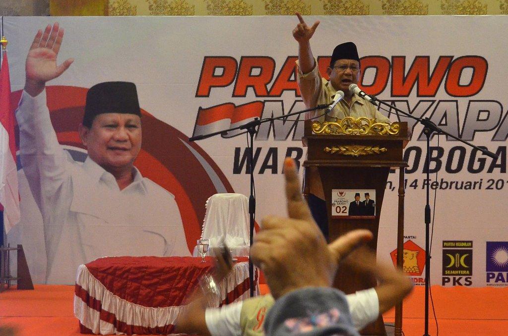 Undngan terbuka Bagi Untuk Pendukung Prabowo Sandi