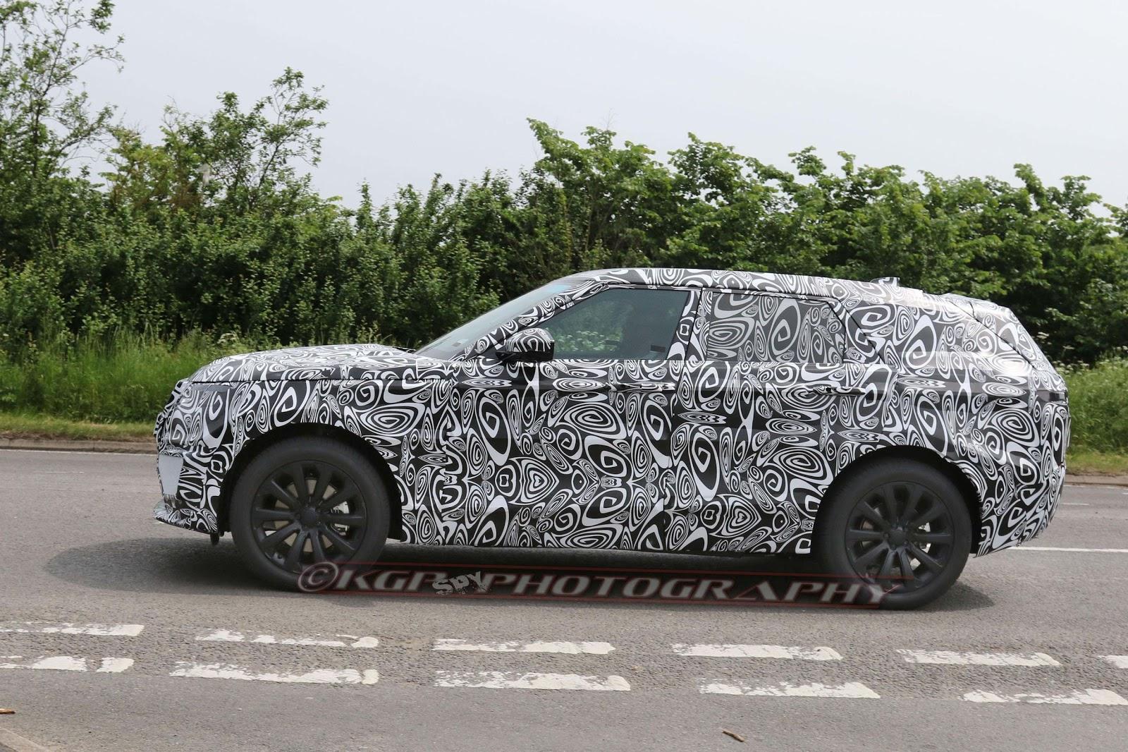 Range Rover Sport Coupe 2018 sẽ là đối thủ cạnh tranh với GLE và X6