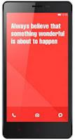 Harga HP Xiaomi Redmi Note 4G dan Spesifikasi