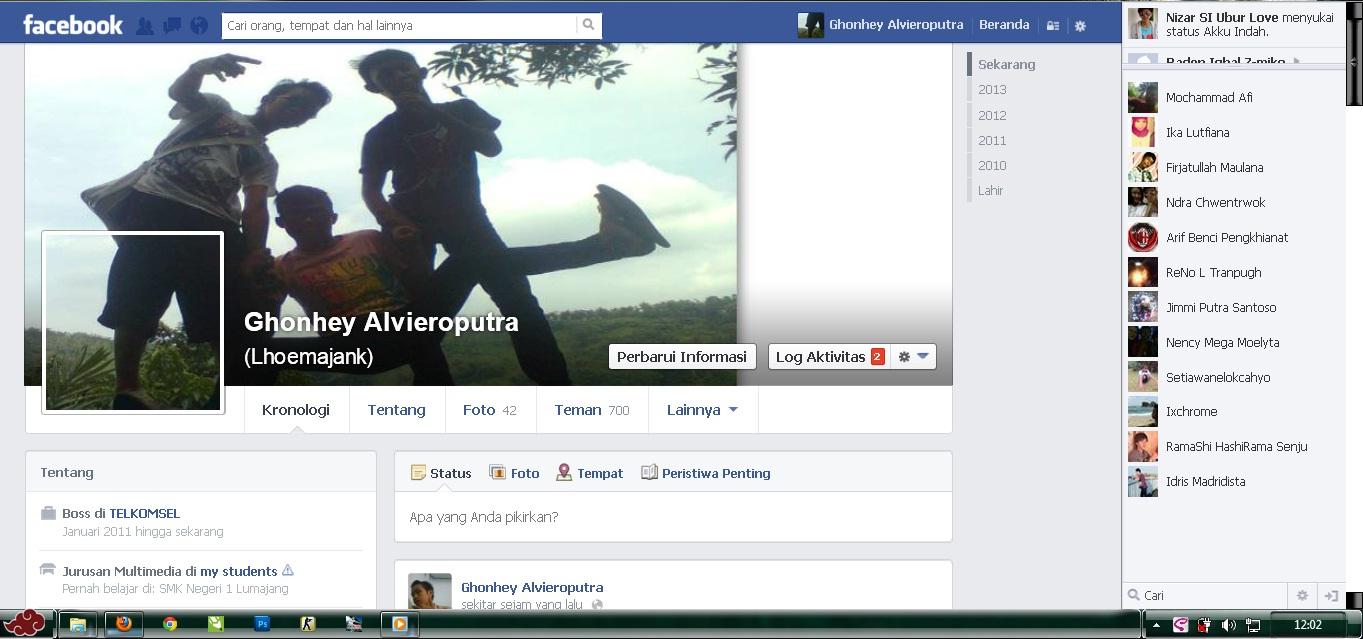 Cara Membuat Foto Sampul Facebook Keren Dan Unik