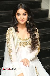 Telugu Actress Mahima Makwana Stills in White Desginer Dress at Venkatapuram Movie Logo Launch  0159.JPG