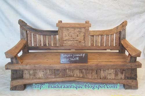 Pleasing Primitive Bench Madura Antique Antique Teak Furniture Gmtry Best Dining Table And Chair Ideas Images Gmtryco