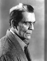 Boris Karloff foto promocional de Los Muertos Andan