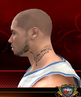 NBA 2K13 Neck Tattoo Mod - Music Notes