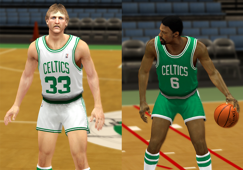 online store 7e203 2322a NBA 2K13 Boston Celtics Jersey Pack - NBA2K.ORG