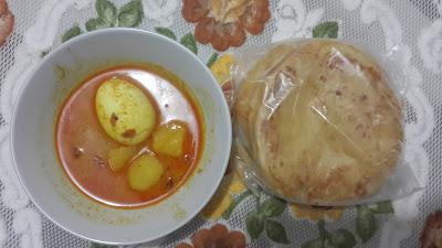 Cane Kari Ayam plus Telur