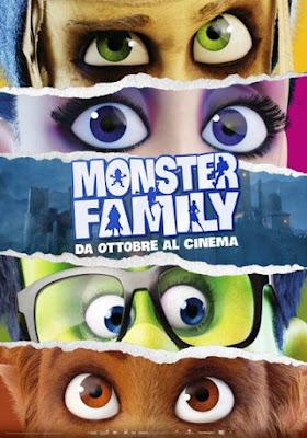 Monster Family - Locandina, cinema, film, cartoon