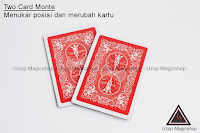 jual alat supap Two Card monte close up