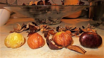 Kako očistiti kesten // How to peel chestnut
