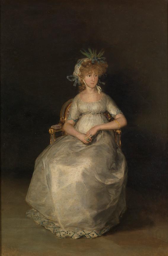 La condesa de Chinchon Goya Museo Prado