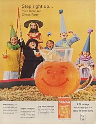 Vintage Drinks Advertisements of the 1960s |Magazine Ads 1960 Kool Aid
