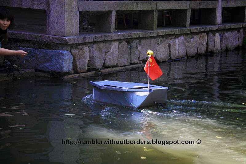 Water courier, Zhouzhuang, Jiangsu, China