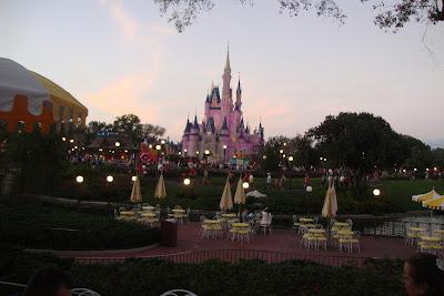 Castelo do Magic Kingdom em Orlando - Florida