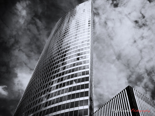 Towers of La Defense - Paris satellite city