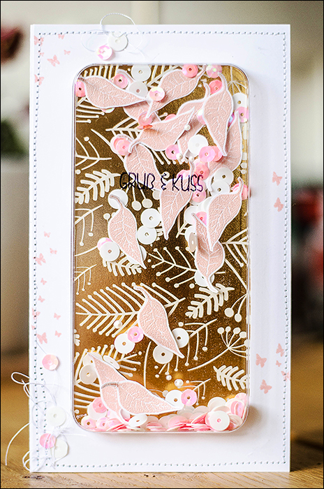 Stephanie Berger - Cardmaking - Shaker Card
