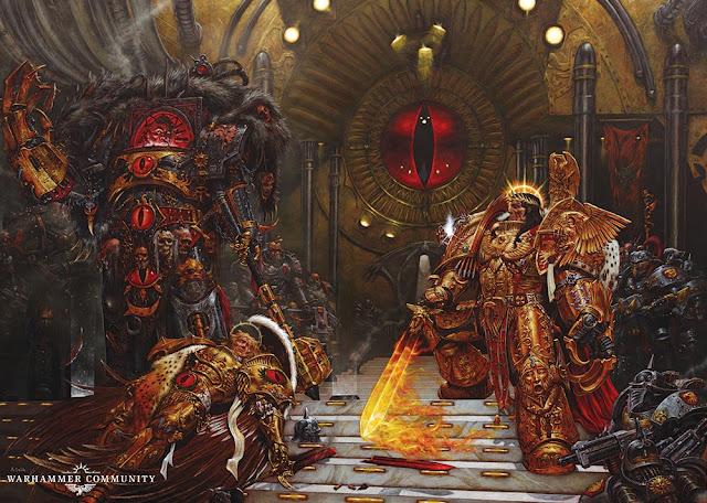 Horus contra el Emperador